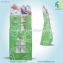 2015 cardboard countertop book display stands rack high quality from HIC
