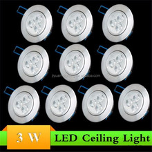 LED downlight set 15W 95mm cut out led fold down light