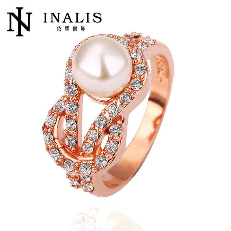 Inalis Pearl jewellery rings women fashion R140