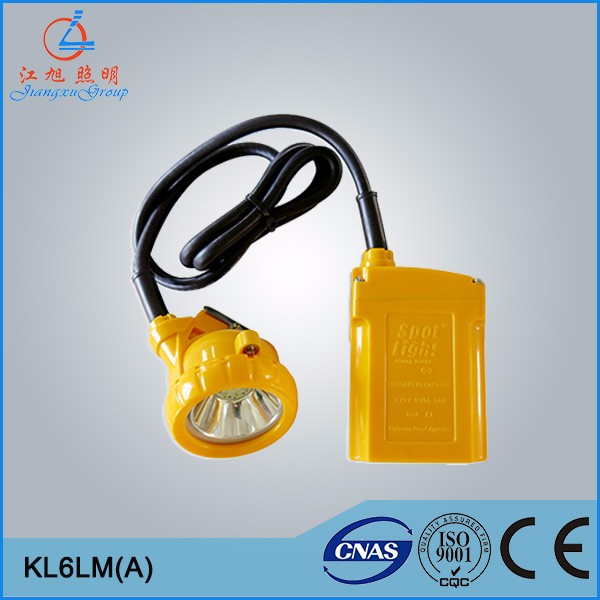 KL6LM(A) cordless miner's caplamp