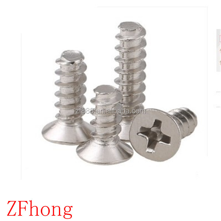 stainless steel flat end countersunk head self tapping <strong>screw</strong>