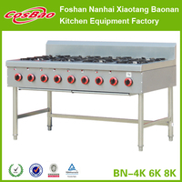 Premium quality and fair price gas cooking range, viking gas range