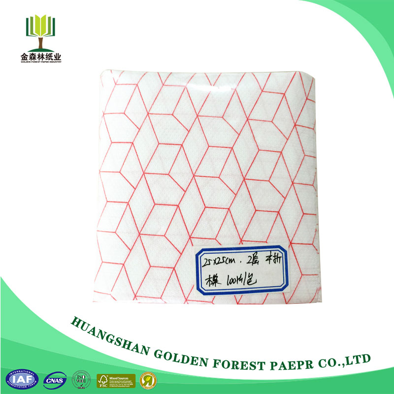 Wholesale From China Edge Embossing Napkin Decoupage