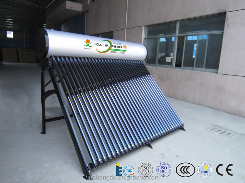 2016 hot sale pressurized vacuum solar collector solar hot water heater use for pool , hotel and home