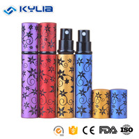 Aluminum Cosmetic Spray Perfume Refill Bottle