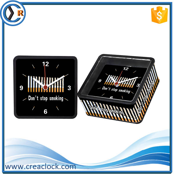 Chinese Election Gift Corporate Cheap New Free Sample Promotional Table Clock For Sale