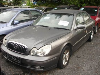 2004 HYUNDAI SONATA (EF) A /KMHEN41BR4A-051653/ Used Cars From Japan (41259)