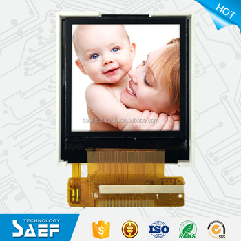 "1.44"" 128*128 TFT lcd display SPI interface screen for smart watch"