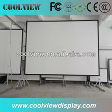 floor standing projector screens