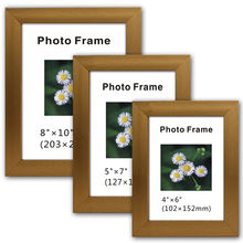 cheap glass stand paper 4r photo frame