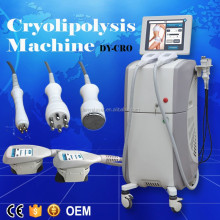 Cold body sculpting ultrasonic rf vacuum cavitation machine