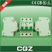Air switch GZ47 circuit breaker with small circuit breaker