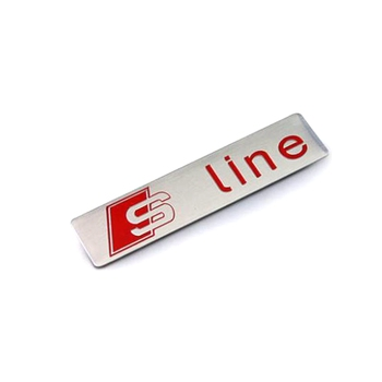 Metal Aluminum Sline Nameplate Sticker Emblem Logo Badge
