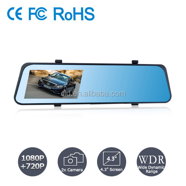 Auto Start 140 Degree Angle 1920x1080P Car Reversing Camera DVR