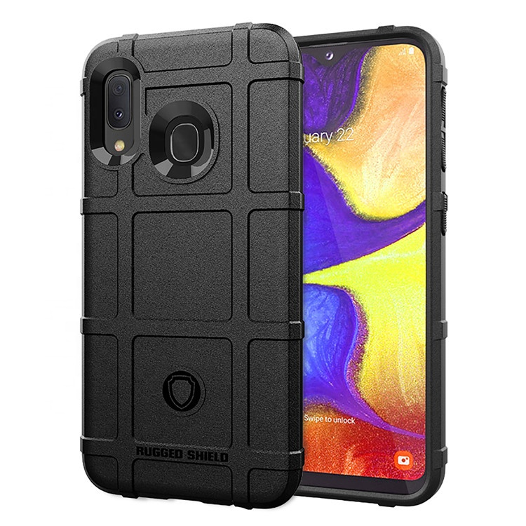 Wholesale strong anti-shock premium soft TPU rugged shield men cell phone back cover cases for Samsung Galaxy <strong>A10E</strong>