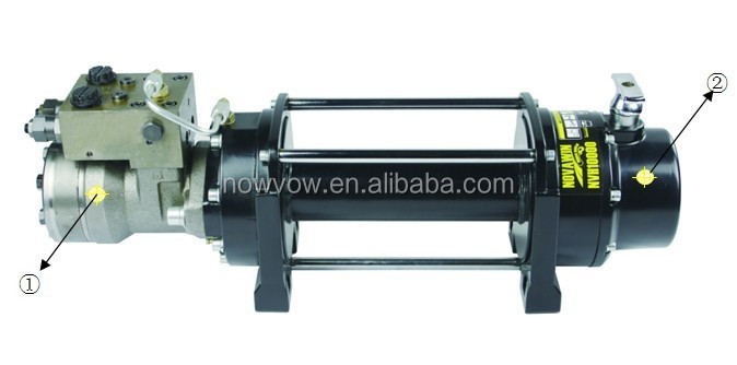 heavy duty hydraulic winches