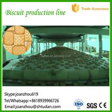Food machine raw materials for biscuit sandwich biscuit factory machine soft biscuit manufacturing plant