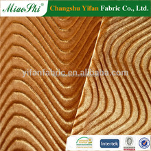hot sell changshu embosed high velour yarns knitting fabric for lady
