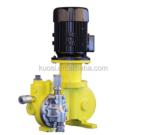 Metering electric operated diaphragm dosing pump