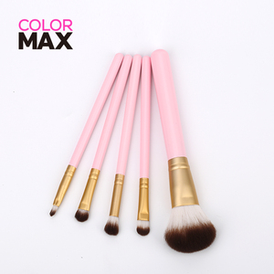 Fashion CE certification accept private label oval brush makeup set