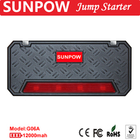 Car parts accessories 12v 12000mah jump starter power bank