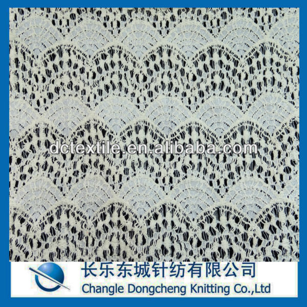 nylon cotton eyelet lace fabric for accessories