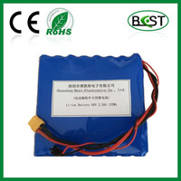 60V Li-ion battery 2.2Ah 18650 for one-wheel electric vehicle