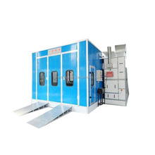 Hot sale Car spray paint booth with top quality ventilation system