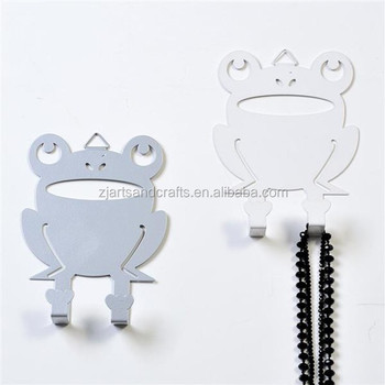Metal Frog Shape Hanging Hooks