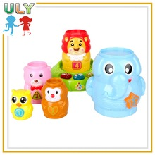 Plastic educational toy new product stacking cup game educational toy for kids educational toy for baby