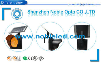 High Brightness Solar Traffic Light