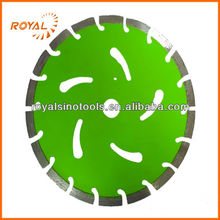 Diamond cutting blade for cutting asphalt,marble,granite