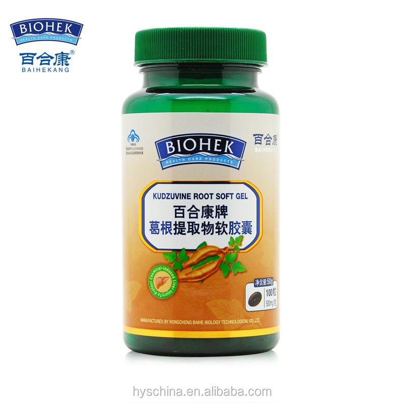Kudzuvine root extract softgel for liver protection and women