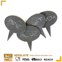 Natural slate marker with high quality