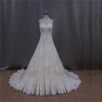 Dazzling crystal corset caught up skirt moroccan wedding dress