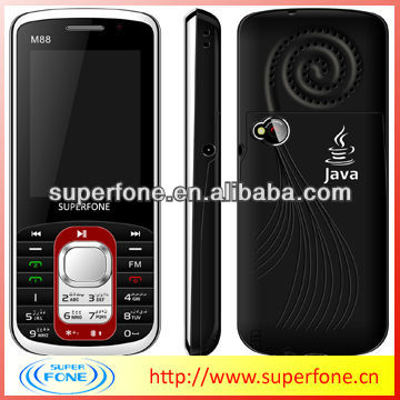 android mobile low price quadband TV mobile phone M88 support TV Camera FM bluetooth