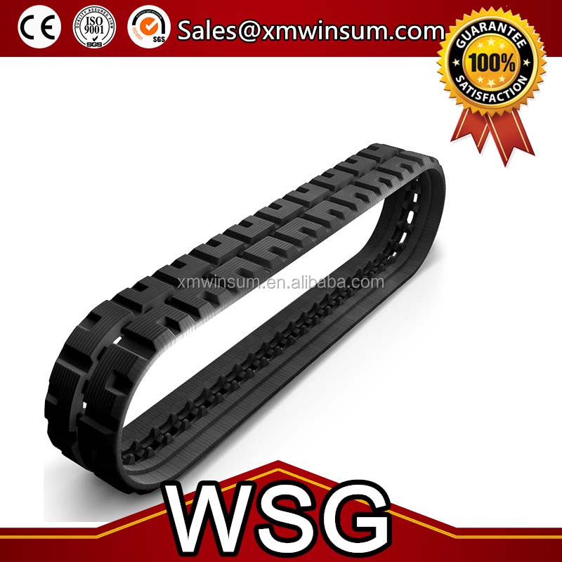 SUV tracks excavator rubber track apply all model and size