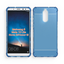 brushed case for huawei maimang 6 transparent tpu cover for Huawei mate 10 lite