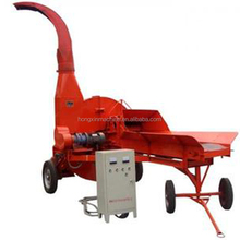 Corn Silage Chaff Grass silage cutter / corn stalk shredder machine