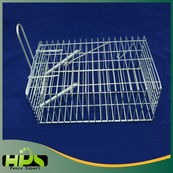 High Sensitivity Collapsible Animal Humane Mouse Mice Rat Trap Cage / Mouse Trap Rat Cage