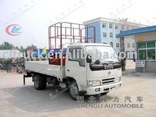Dongfeng 4*2 mini aerial bucket truck sale