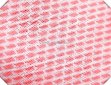 Disposable spunlace nonwoven fabric
