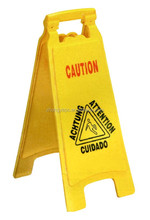 H66 plastic warning sign caution board wet floor sign