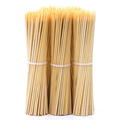 Factory cheap price  BBQ tool bamboo marshmallow stick skewer