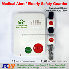 Water Proof SOS Button GSM Medical Alarm,Senior Activities Monitoring