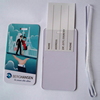 92*60mm back side business card plastic luggage tag