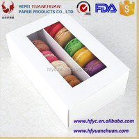 High Quality Customized macarons sweet paper packaging box