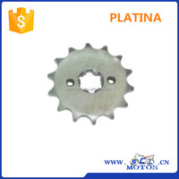 SCL-2012120013 428H-14T PLATINA motorcycle chain front sprocket