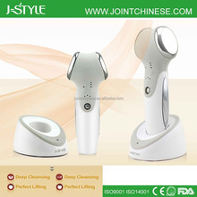 2-IN-1 J-Style Ion Ultrasonic Home Use Skin Rejuvenation Beauty Machine galvanic facial machine