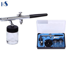 HS-28 hot selling airbrush aerografo kit wholesale for makeup and emulsion spraying